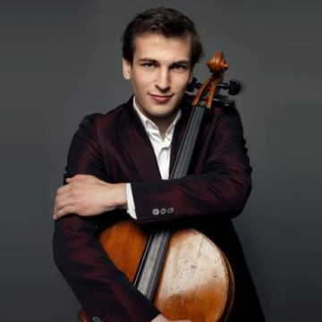 Christoph Croisé, cello will perform for the Festival January 1, 2019!