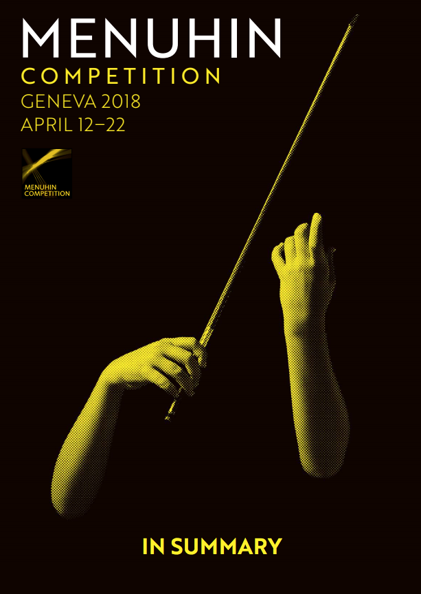 Otto Antikainen wins the Gstaad Festival Award at Menuhin Competition 2018